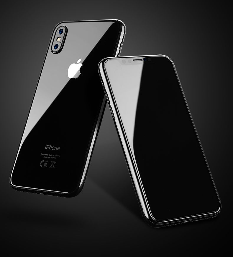 size 40 54b64 7bd01 TEMPERED GLASS BENKS OKR+ PRO CASE FRIENDLY IPHONE X/10 BLACK