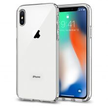 ETUI SPIGEN LIQUID CRYSTAL IPHONE X/10 CRYSTAL CLEAR