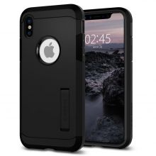 ETUI SPIGEN TOUGH ARMOR IPHONE X/10 BLACK
