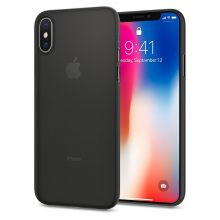 ETUI SPIGEN AIR SKIN IPHONE X/10 BLACK