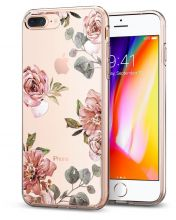 ETUI SPIGEN LIQUID CRYSTAL IPHONE 7/8 PLUS AQUARELLE ROSE
