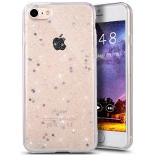 ETUI CASSY GLITTER STARS IPHONE 7/8 CLEAR