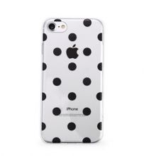 ETUI CASSY POLKA DOTS IPHONE 7/8 BLACK