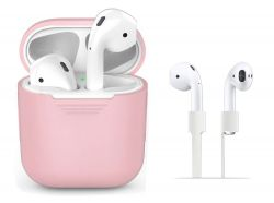 ETUI TECH-PROTECT ICONSET APPLE AIRPODS PINK