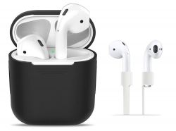 ETUI TECH-PROTECT ICONSET APPLE AIRPODS BLACK