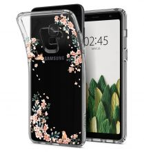 ETUI SPIGEN LIQUID CRYSTAL GALAXY A8 2018 BLOSSOM NATURE