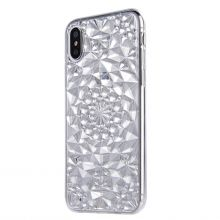 ETUI CASSY DIAMOND IPHONE X/10 CRYSTAL CLEAR