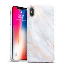 ETUI ESR SHINY MARBLE IPHONE X/10 GREY